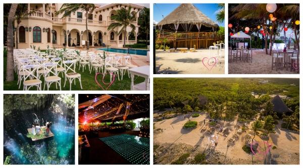Wedding venues in Riviera Maya