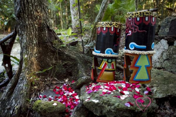 Ceremonia maya cueva del tapir