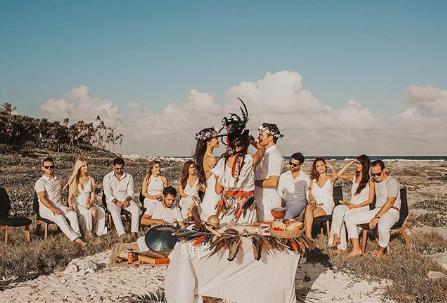 mayan wedding in Tulum