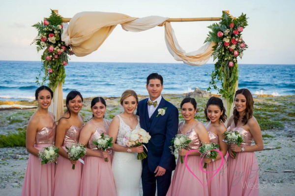 Wedding atGrand Sirenis Riviera Maya