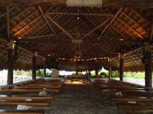 Capillas en la riviera maya, Capilla de san francisco de asis xcaret