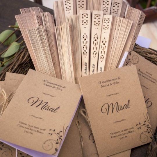 Como elaborar el misal de tu boda catolica