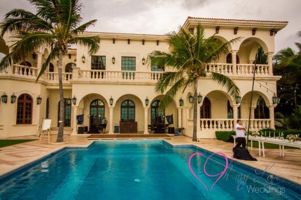 Villa la joya weddings Riviera Maya