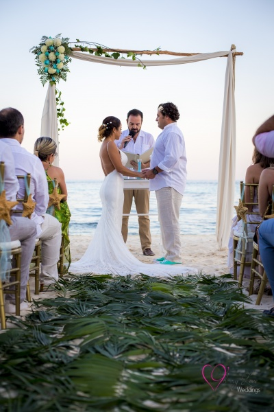 Wedding at Playa del Carmen