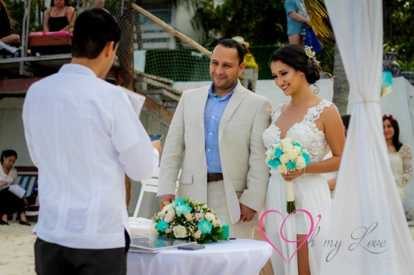 Wedding at Dos Playas Cancun