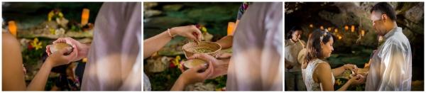 Ceremonia maya en cenote Riviera Maya Tulum