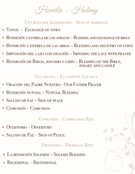 How to Make a Service Book For Your Catholic Wedding