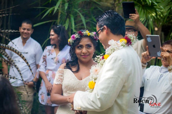 Mayan wedding in Riviera Maya Cenote Buho