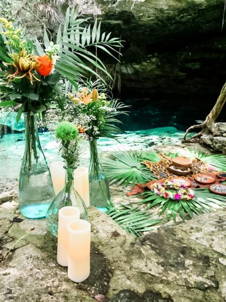 Boda maya Riviera Maya Tulum cenote buno