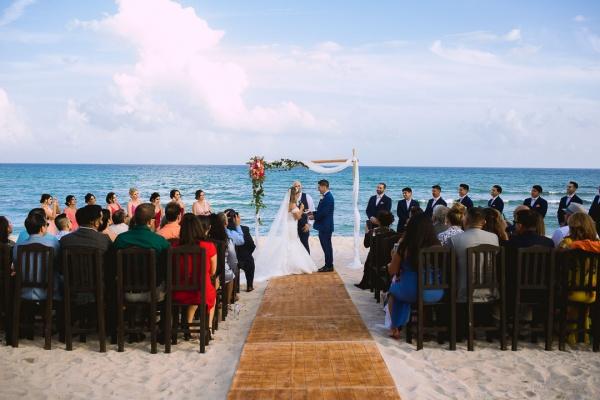 wedding punta venado beach club venue