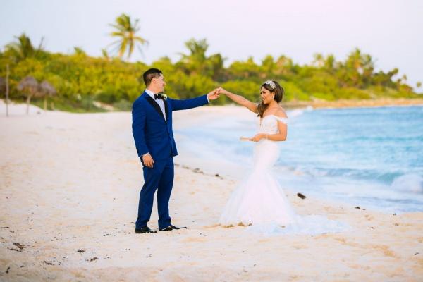 wedding at punta venado venue