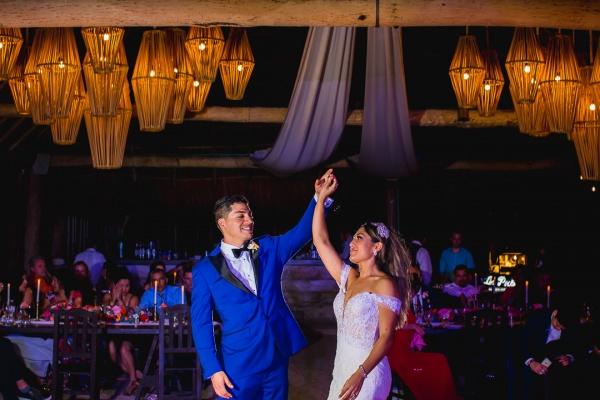 first dance sweet heart table punta venado venue