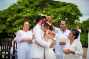 Mayan wedding punta venado venue