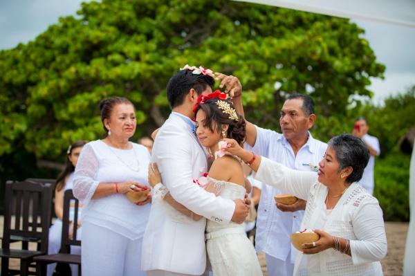 Mayan wedding punta venado venue