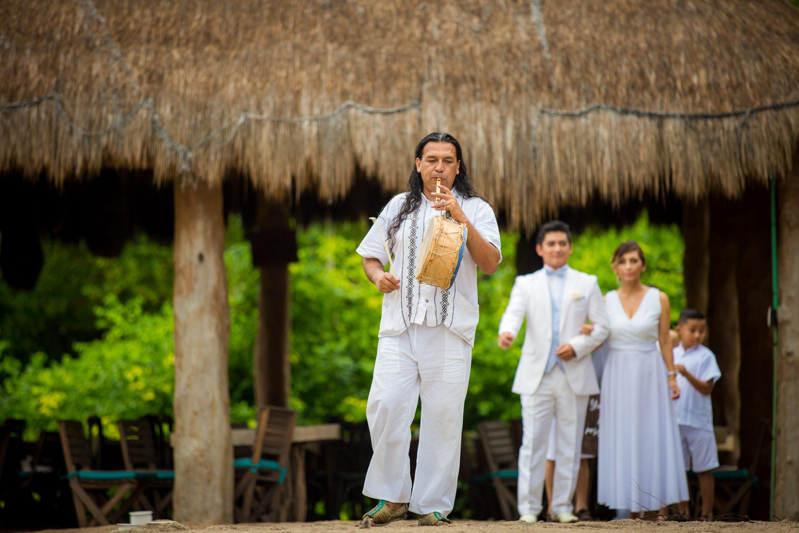 mayan ceremony punta venado venue