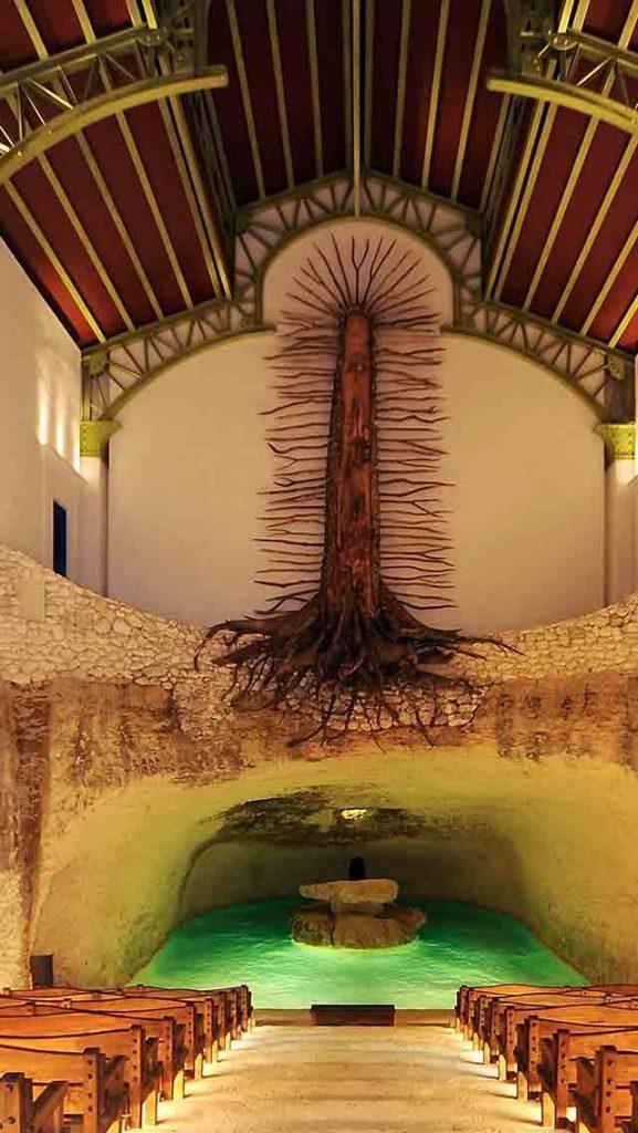 guadalupe chapel Xcaret Park