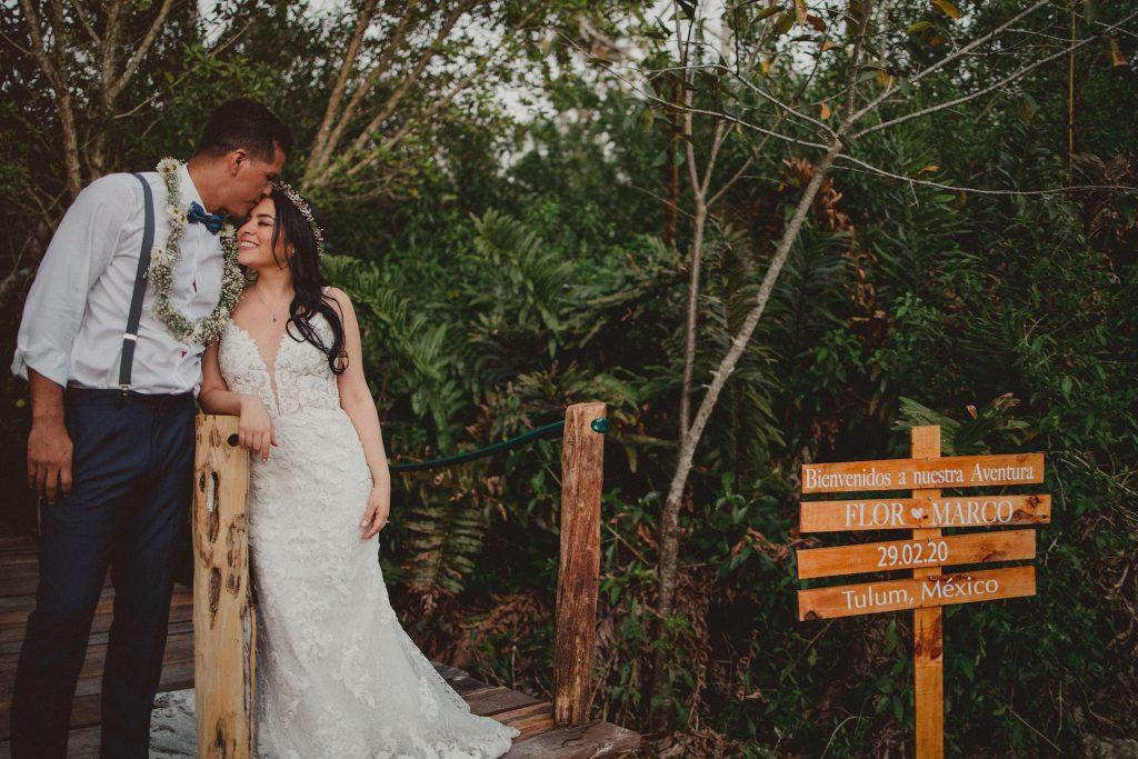Mayan wedding in Cenote