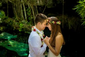 Mayan wedding cenote buho