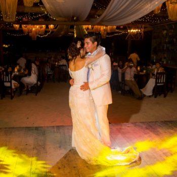 first dance wedding punta venado venue